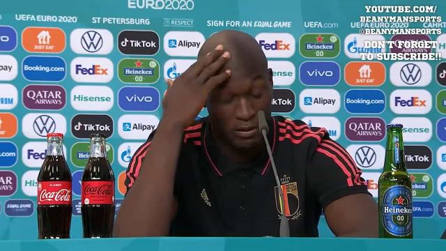 O discurso emotivo de Lukaku sobre Eriksen que já está a correr o mundo