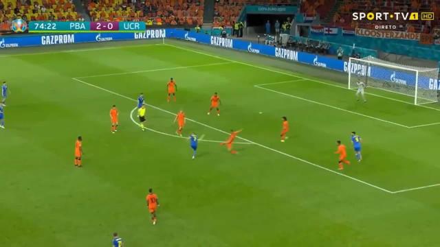 Melhor golo do Euro'2020? Yarmolenko já assinou 'candidatura'