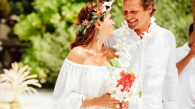 Cinco anos, cinco fotos. Recorde o casamento de Liliana Campos
