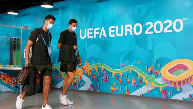 Segurança obrigou Cristiano Ronaldo a apresentar acreditação
