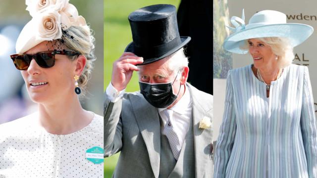 Começou mais uma edição do Royal Ascot. Os primeiros looks da realeza