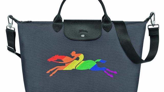 Orgulho a galope! Longchamp celebra mês do Pride com edição limitada