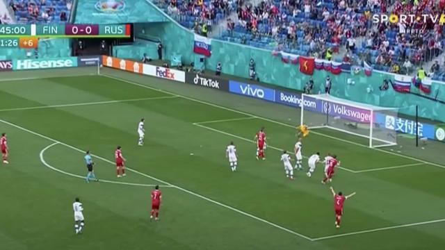 O golo de Miranchuk que ofereceu a primeira vitória à Rússia
