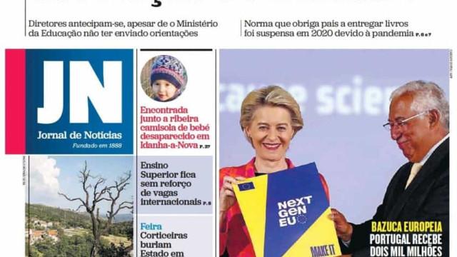 Hoje é notícia: Variante Delta já domina em Lisboa; Escolas pedem manuais