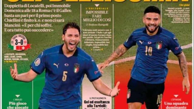 Lá fora: Itália ao rubro com a seleção e lenda deixa Real Madrid