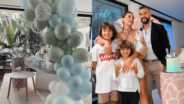Em imagens. A festa de aniversário do filho de Simão Sabrosa