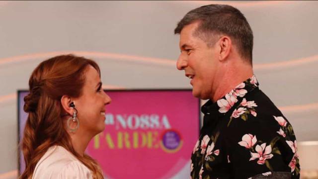 João Baião regressa à RTP para surpreender Tânia Ribas de Oliveira