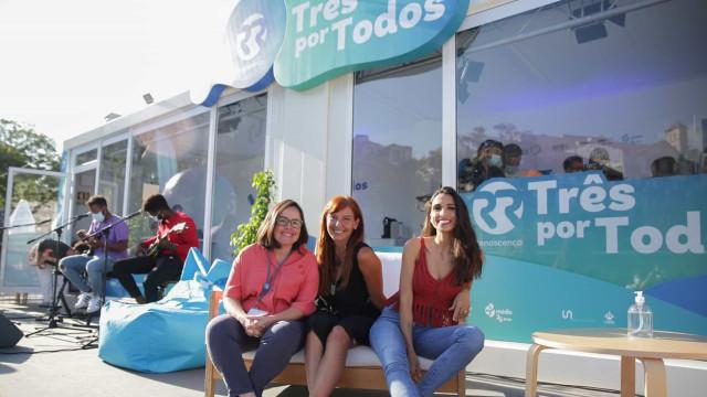 Terminou a maratona de rádio de Joana Marques, Ana Galvão e Filipa Galrão