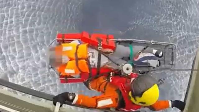 Força Aérea resgata tripulante de navio a mais de 300 kms da Terceira