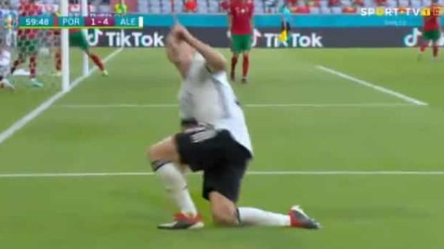 O quarto golo da Alemanha frente a Portugal