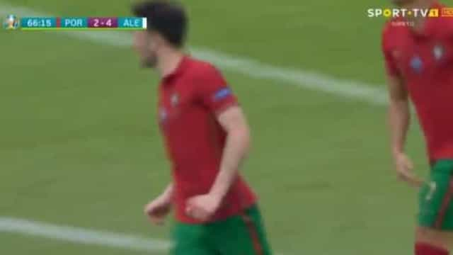 Diogo Jota marcou e reduziu desvantagem portuguesa em Munique