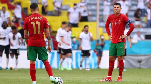 Do sonho ao pesadelo. Portugal acaba vergado pela Alemanha em Munique