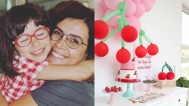 Catarina Raminhos revela detalhes da festa de aniversário de Maria Leonor