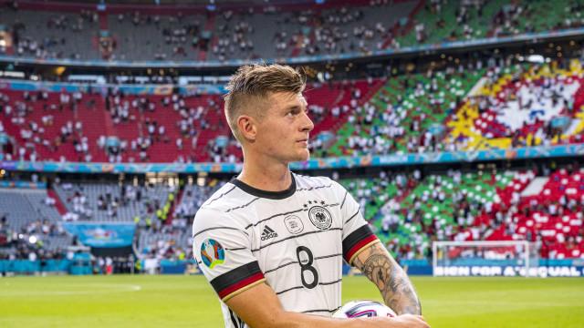 Gesto de Kroos após vitória frente a Portugal lança alerta na Alemanha
