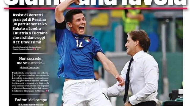 Lá fora: A fábula italiana e os votos de confiança em Kane e Benzema