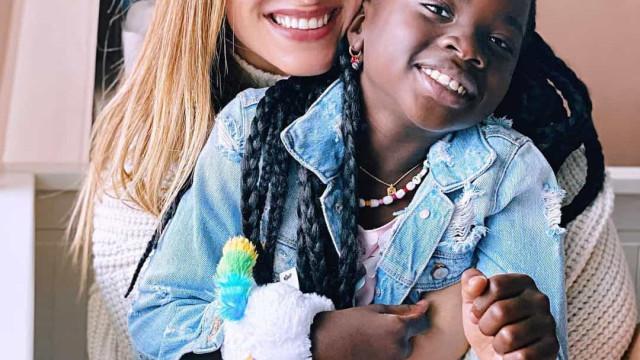 A viver em Portugal, Giovanna Ewbank celebra aniversário da filha