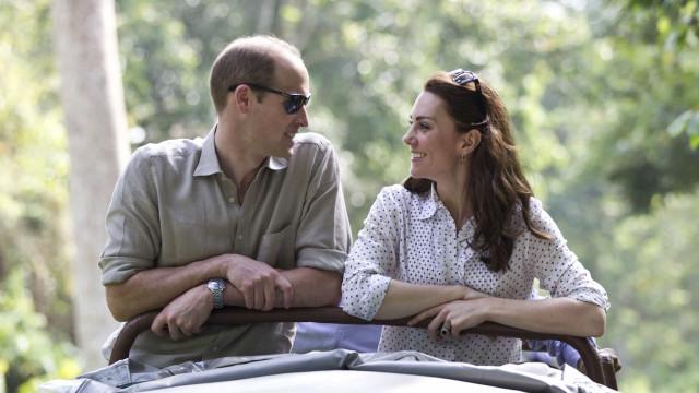 Revelado o destino de férias onde se encontram Kate Middleton e William