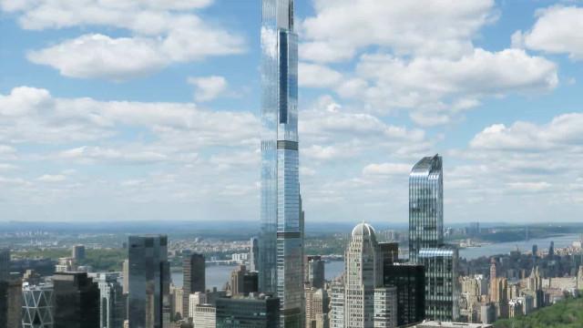 Eis o edifício residencial mais alto do mundo. Fica em Nova Iorque