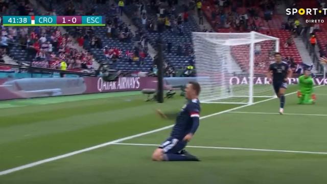 McGregor marcou em cima do intervalo e relançou jogo com a Croácia
