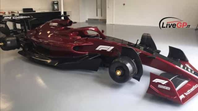 Primeiras imagens dos carros de 2022 da F1 reveladas na internet