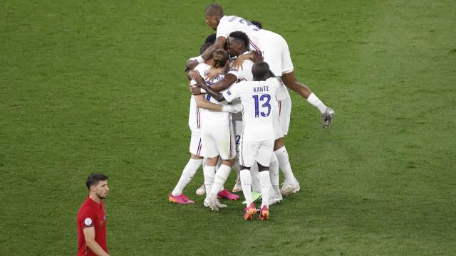 [1-2] Portugal-França: Benzema adianta os gauleses