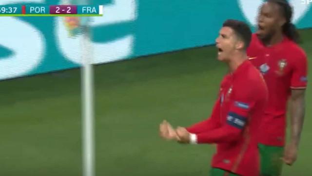 Ronaldo voltou a marcar de penálti e igualou recorde de Ali Daei