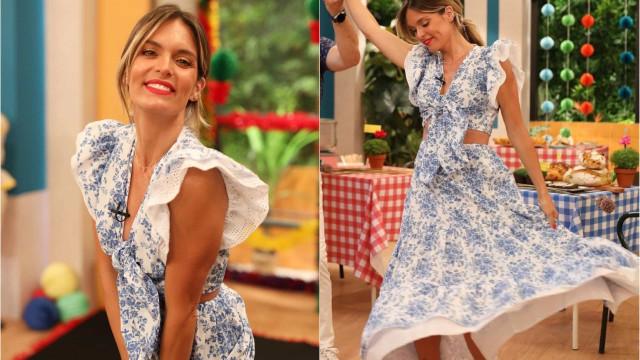 Look encantador de Diana Chaves é de marca portuguesa (e está em saldos)