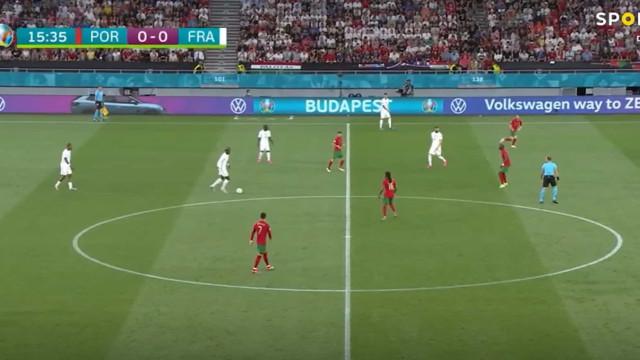 Os melhores momentos do empate entre Portugal e França