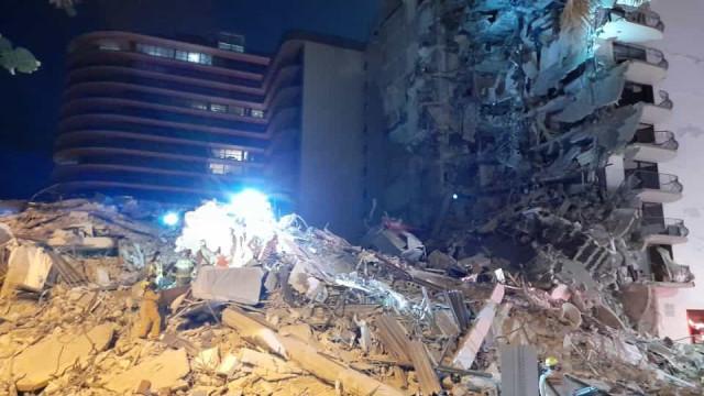 Edifício com múltiplos andares colapsou em Miami