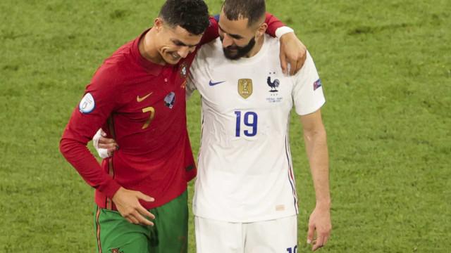 Benzema revela conteúdo da conversa com Cristiano Ronaldo ao intervalo