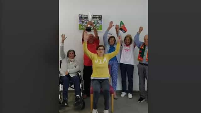 Vídeo. Idosos de Amarante dançam para apoiar a Seleção portuguesa