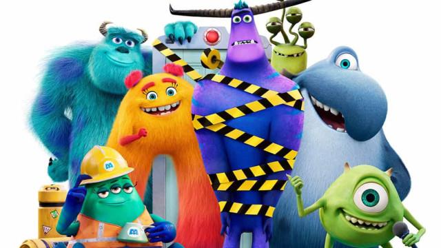 'Monstros: Ao Trabalho'. Falámos com os atores da nova série do Disney+