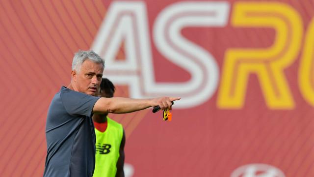 Mourinho reage ao ouro de Pichardo com muita ironia à mistura