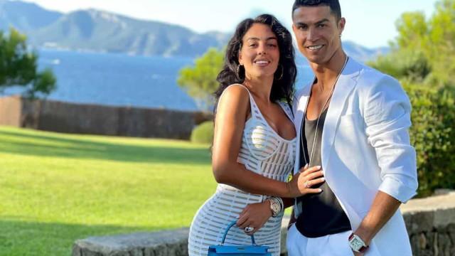 Cristiano Ronaldo declara-se à amada e Georgina Rodríguez 'retribui'