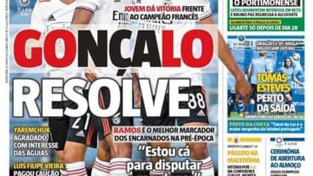 Por cá: Gonçalo Ramos resolve no Algarve e Beto atirado aos leões