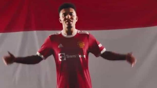 Agora sim, é oficial: Sancho é o mais recente reforço do United