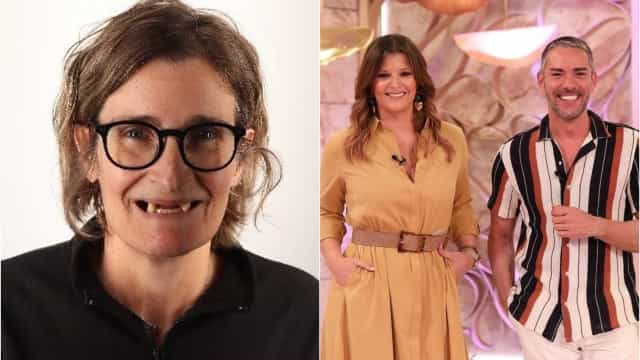 Cláudio Ramos e Maria Botelho Moniz ficam sem palavras com transformação