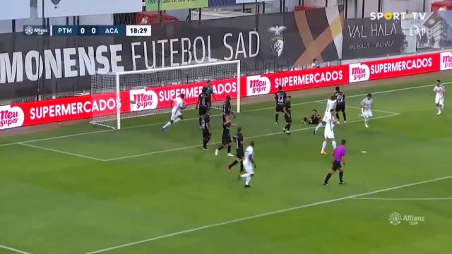 Willyan marcou o primeiro golo da época 2021/22 em Portugal