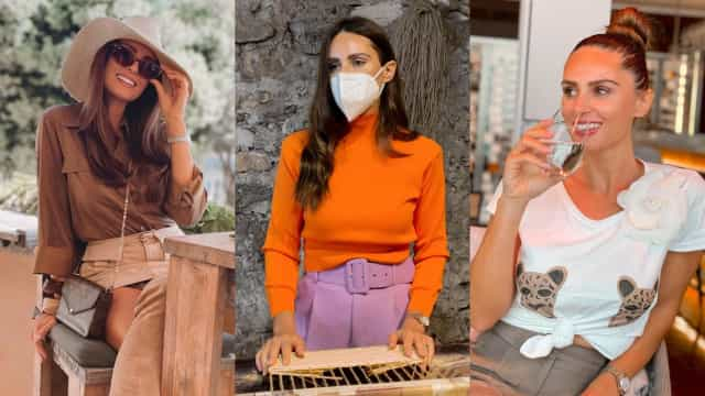 O estilo camaleónico de Vanessa Rebelo, a mulher de Simão Sabrosa
