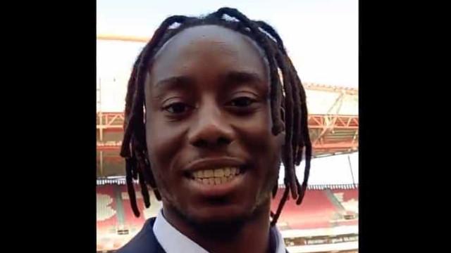 Meité deixa mensagem aos adeptos do Benfica e já arrisca no português