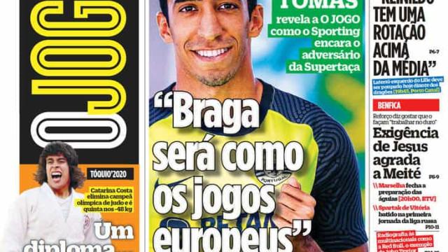 Por cá: Holofotes sobre os leões e Meité fala 'à Benfica'