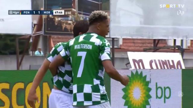 Franco marcou e atirou com o Penafiel-Moreirense para os penáltis
