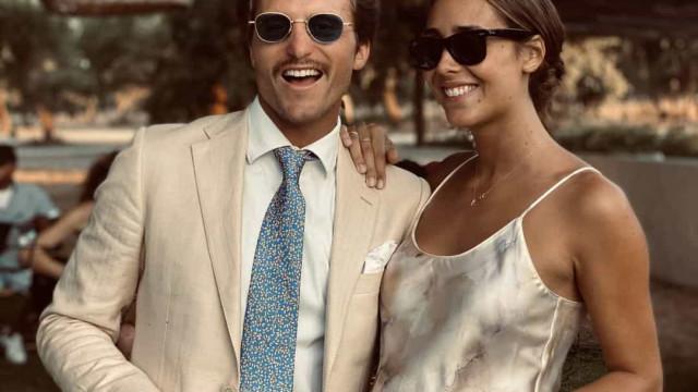 Tiago Teotónio Pereira e Rita Patrocínio espalham elegância em casamento