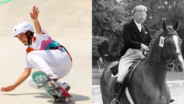 Os atletas olímpicos mais jovens e mais velhos da História