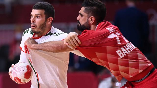 Portugal bate Bahrain e ganha 'nova vida' no torneio olímpico de andebol