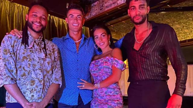 Dupla Calema junta-se com Cristiano Ronaldo e Georgina Rodríguez