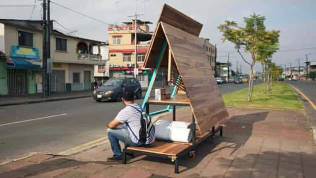 Atelier no Equador lança solução habitacional para os sem-abrigo