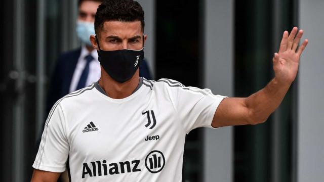 Allegri explica ausência de Cristiano Ronaldo da lista de convocados
