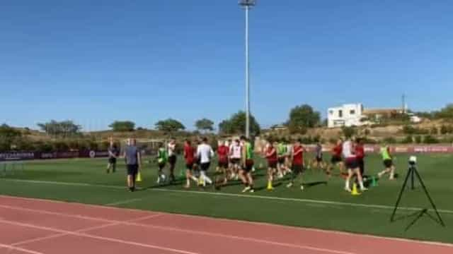 José Mourinho e AS Roma já treinam no Algarve