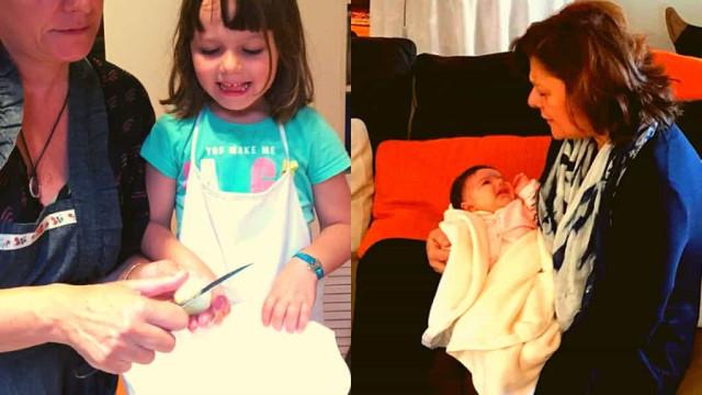Júlia Pinheiro partilha fotos raras com as netas